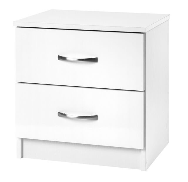 Kullen 2 Drawer Bedside Table