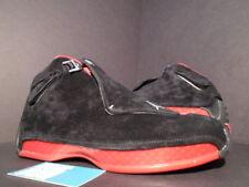 separation shoes 33042 45b43 item 2 NIKE AIR JORDAN XVIII 18 RETRO CDP COUNTDOWN BLACK RED BRED SUEDE  332548-061 9 -NIKE AIR JORDAN XVIII 18 RETRO CDP COUNTDOWN BLACK RED BRED  SUEDE ...