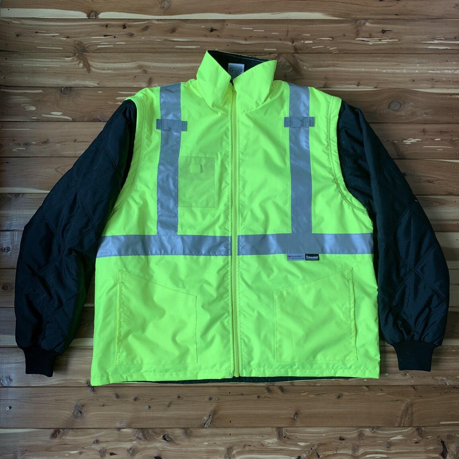 Ergodyne Glowear 8287 Class 2 Type R Convertible Thermal Hi Vis Jacket Vest For Sale Online