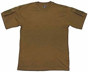 US ARMY MILITARY SHORT SLEEVE T SHIRT COMBAT STYLE sleeve pockets ... bec2c2050ff