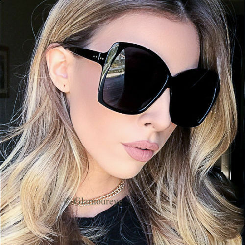 Oversized XL Square Large Big Jackie O Butterfly Fashion Diva Sunglasses 7205 IT