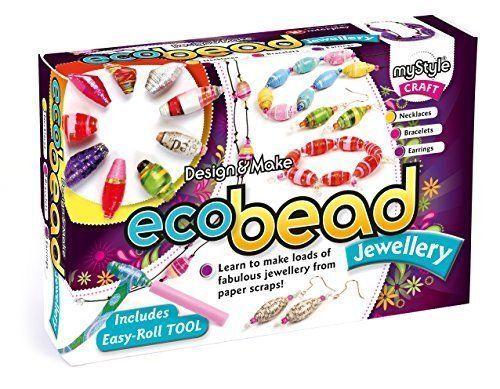 Jewellery Craft Making Kit | Girls Gifts Kids Christmas | myStyle Eco Bead
