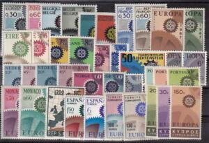 CEPT-Gemeinschaft-Jahrgang-1967-kplt-postfrisch-ansehen-MW-65-60-FZA212-2