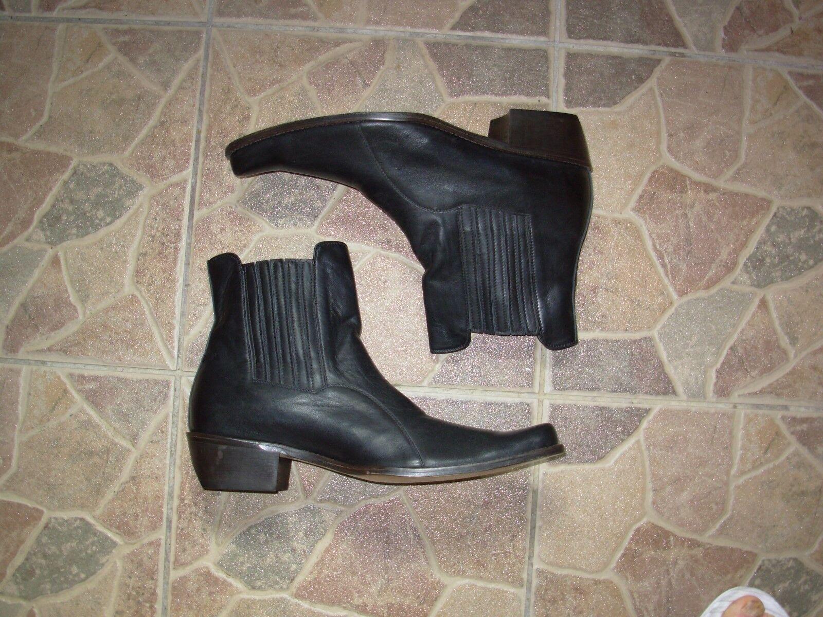 Via Milano Hand made cowboy/western boots  Leather siz 42 Scarpe classiche da uomo