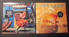 1983/86 Cyndi Lauper ‎She's So Unusual & True Colors LP EX/EX Shrink Hype