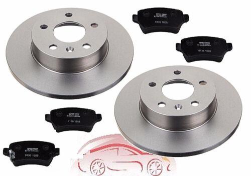 Beläge hinten Hinterachse für einen Opel Zafira A Bremsen Bremsscheiben