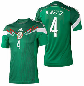 28159bd7ec7 Image is loading ADIDAS-RAFAEL-MARQUEZ-MEXICO-AUTHENTIC-ADIZERO-HOME-JERSEY-