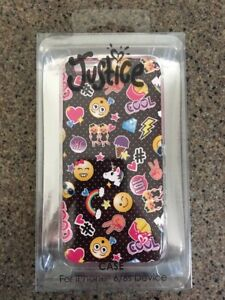 detailed pictures 1d40b 6befe Details about JUSTICE Girls Emoji iPhone 6/6s Case Smart Phone