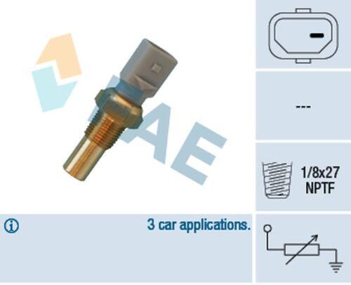 Fae refrigerante agua sensor de temperatura 32690 para una dodge 1 polos 1//8x27 NPTF RAM