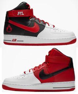 Nike Force Air Haut Homme Décontracté Rouge 1 Lv8 Blanc University AAr5Swqgx