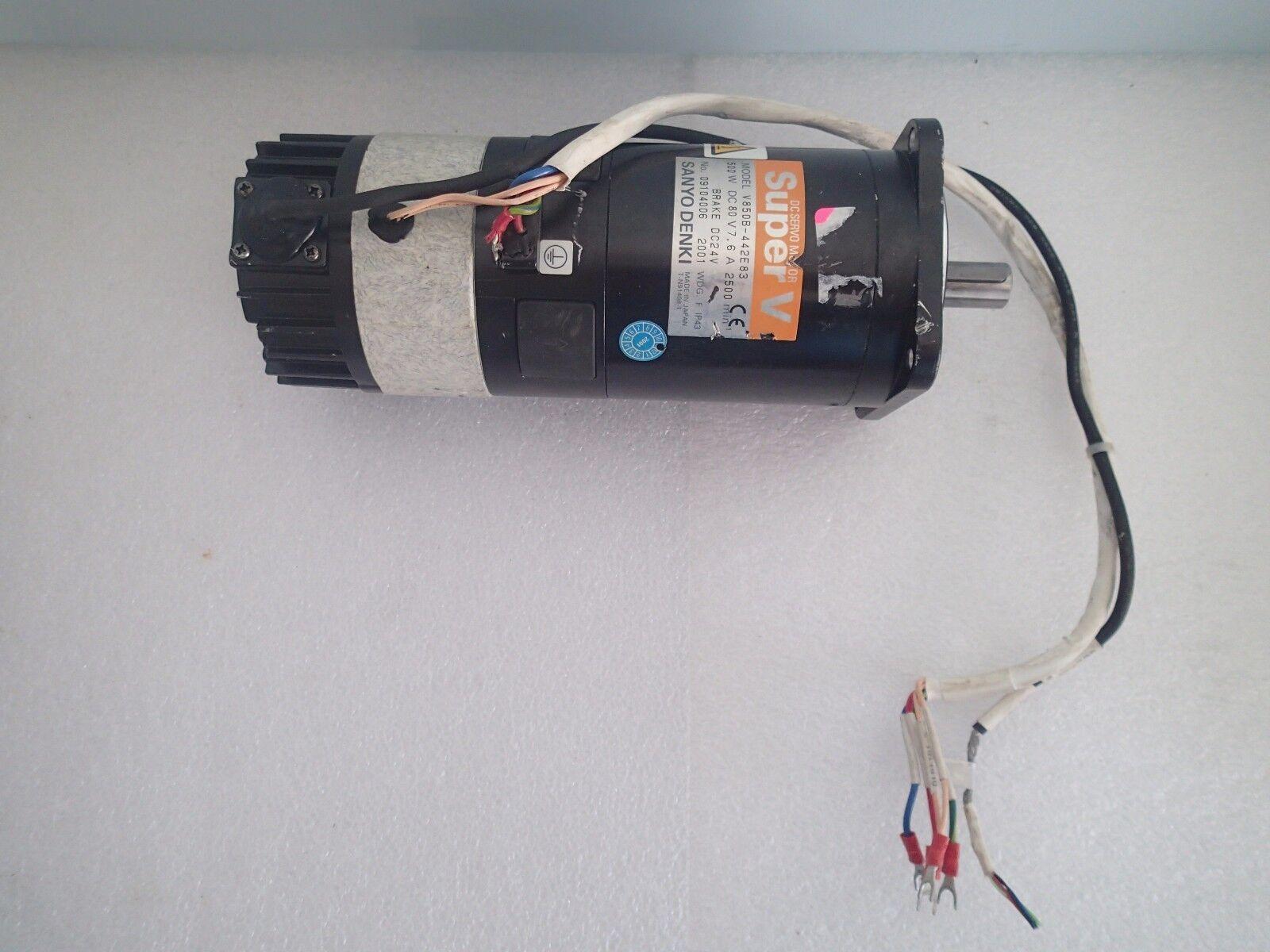 Sanyo Denki Super L DC Servo Motor L406-101ET2 Gleichstrommotor für Encoder