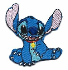 Disney's Lilo & Stitch Movie SITTING STITCH Embroidered Iron On / Sew On Patch