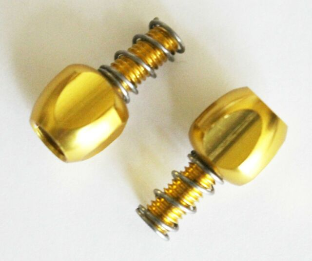 2PCS ALLIGATOR Index Adjuster Bolt M5 cycling black red gold silver inner cable