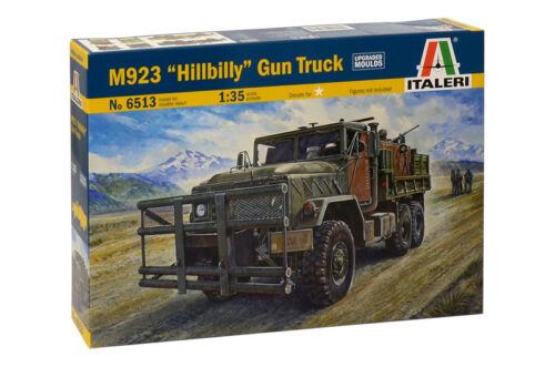 "M923 /""Hillbilly/"" Gun Truck Kit Italeri 1:35 IT6513"