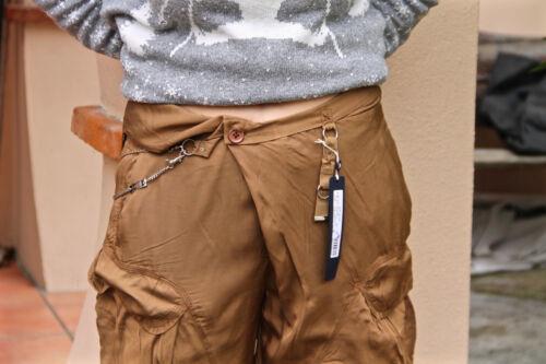 Catenella Con In Pantaloni 38 W27 Taglia High Raso A Fr Use etichetta Camel FpnwXq
