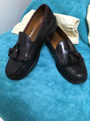 Alden Cape Cod Tassel Loafers 12E Burgundy