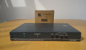 KRAMER-VP-483-Computer-Graphics-Video-amp-Stereo-Audio-to-3G-HD-SDI-Digital-Scaler