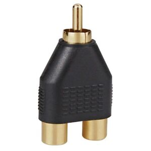 Sonderabschnitt Dynavox Cinch Adapter Stecker Auf Zwei Buchsen Vergoldete Kontaktflächen Audiokabel & Adapter X-2062 Attraktive Designs; Tv, Video & Audio