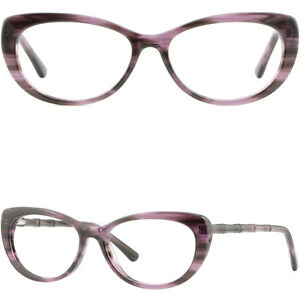 92dc7a65484 Image is loading Cute-Womens-Cateye-Plastic-Frames-Spring-Hinges-RX-