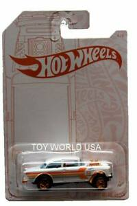 Hot Wheels 55 Chevy Bel Air Gasser 52nd Anniversary Pearl And Chrome 4//6
