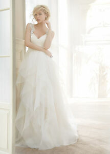 Image Is Loading Hayley Paige Carrie White Wedding Gown