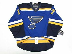 JADEN SCHWARTZ ST. LOUIS BLUES AUTHENTIC HOME REEBOK EDGE 2.0 7287 ... 0517d6df6