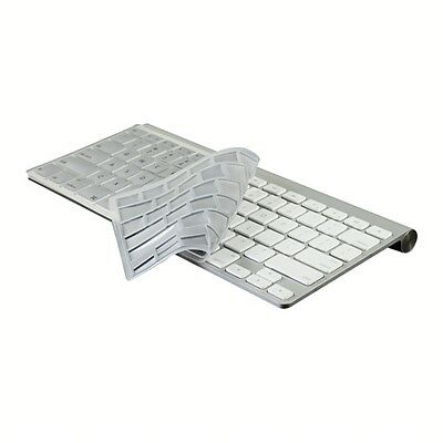 SILVER Silicone Cover Skin for APPLE Wireless Keyboard