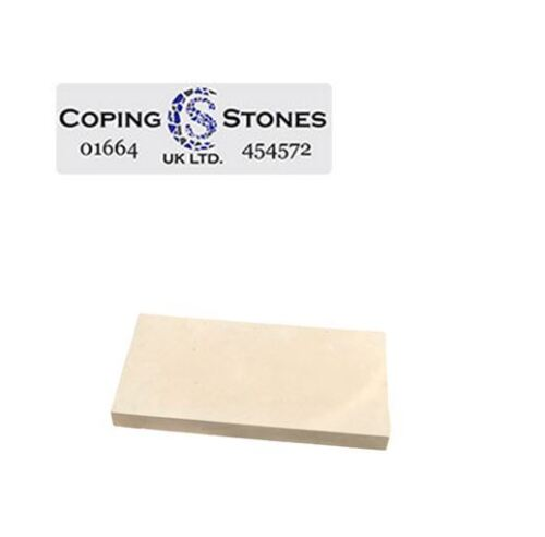 High Strength Flat 450mm x 225mm Coping Stones Various Colours Available