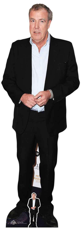 Jeremy Clarkson LifeGröße Cardboard Cutout   Standee   Standup Motoring Cars