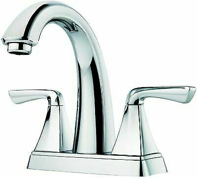 Pfister Chrome Polished 2 Handle 4 In