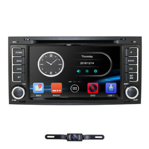doppel din autoradio navi gps dab radio f r vw t5 multivan navigation bluetooth ebay. Black Bedroom Furniture Sets. Home Design Ideas
