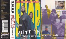 S.N.O.P. - Nutt'in All Over Your Face CASSETTE TAPE SEALED NEW Mr. Key, Kilo