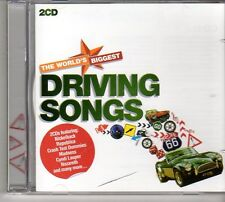 (FD317C) Driving Songs, 36 tracks various artists - 2CDS - 2012