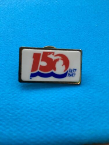 18371987 150 YEARS Square PIN