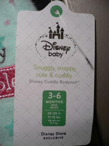 DuMbO~BoDySuiT~CoTTon~CuDDlEy~Baby~Infant 3-6M 6-12M 12-18M~Disney Store~2013
