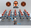 21Pcs-Ahsoka-Tano-332nd-Star-Wars-Clone-Trooper-Minifigures-For-Lego-Moc-Toys thumbnail 1