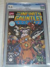 Infinity Gauntlet #1 CGC 9.6 White Pages! - MCU Infinity War Crusade Thanos Hulk
