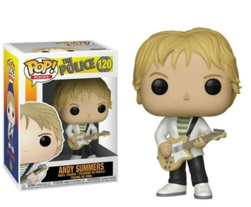 THE POLICE VINYL FIGURE #120 ANDY SUMMERS FUNKO POP