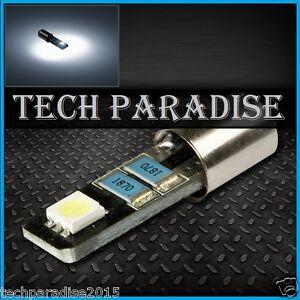 1x-Ampoule-BA9S-T4W-T2-3W-LED-SMD-Anti-erreur-CanBus-Blanc-White-lamp-light