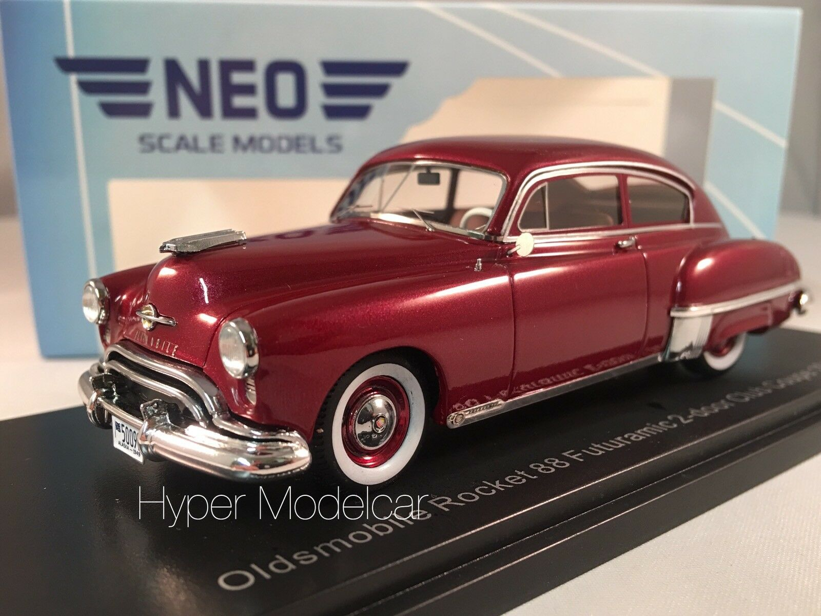 NEO SCALE MODELS 1 43 Oldsmobile Rocket 88 Futuramic 2-door Coupè 1949 NEO45756