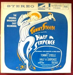 Reel Tape - Half A Sixpence - 7 1/2 ips  - Original Broadway Cast - Tested Good