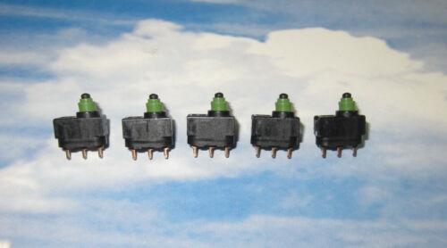 5x Micro-interrupteur Marquardt 1055//58 pour Modélisme ou de voiture AUDI VW SEAT SKODA