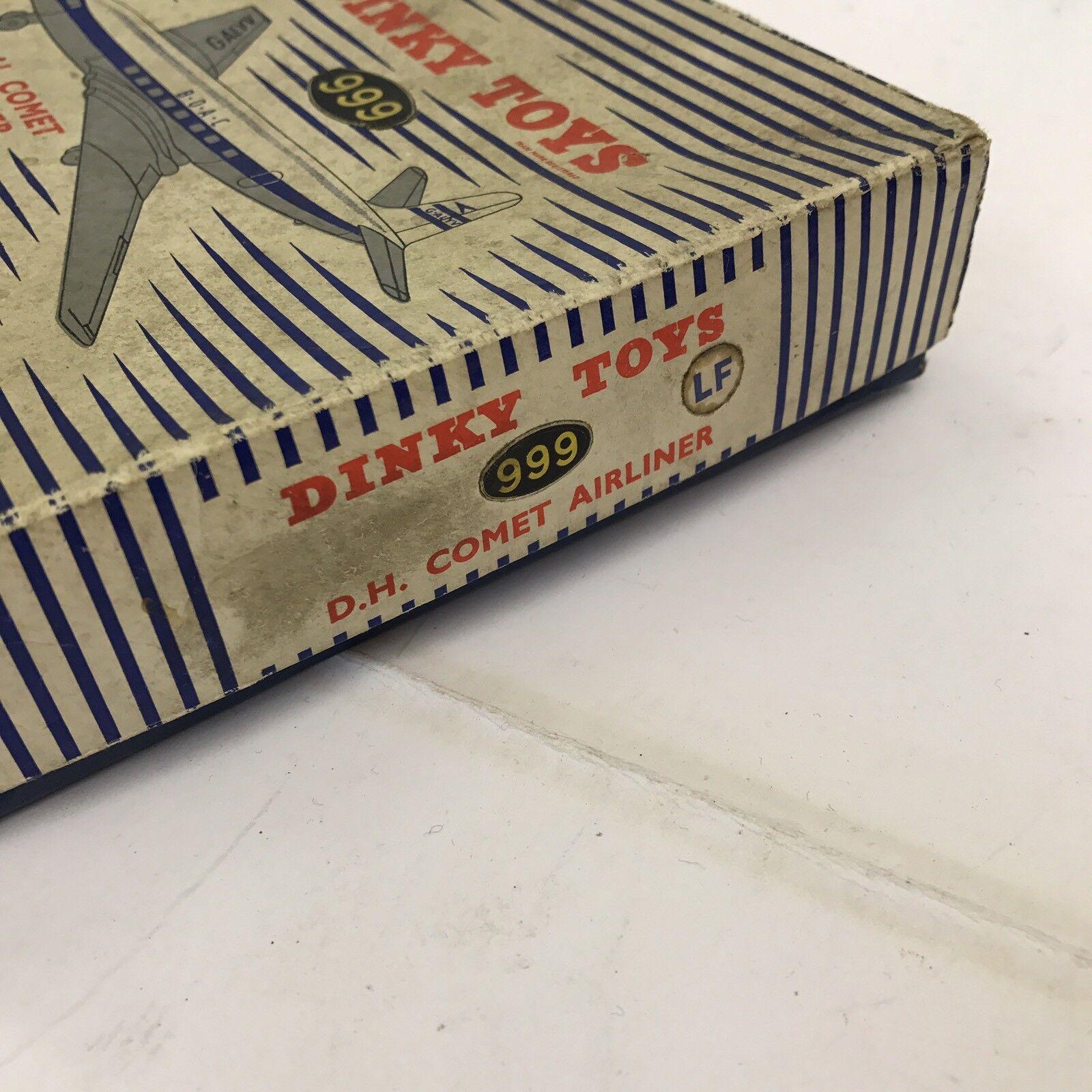Fuxi double à, viens! Vintage DINKY DINKY DINKY TOYS long D.H. COMET avion no 999 Boxed | Sale  | Ont Longtemps Joui D'une Grande Renommée  | élégante Et Gracieuse  943d34