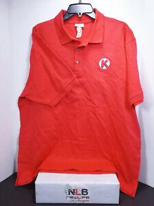 Circle K Uniform Red Polo Shirt Men Size XL | eBay