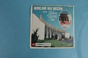 VINTAGE VIEW-MASTER 3D REEL PACKET A234 MOVIELAND WAX MUSEUM COMPLETE