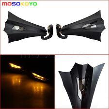LED Light 7/8'' Handlebar Hand Brush Guards For Hodna Suzuki KTM Mounting Kit