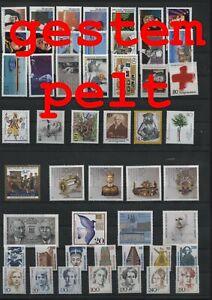 Germany-Federal-Frg-vintage-yearset-1988-Postmarked-Used-complete