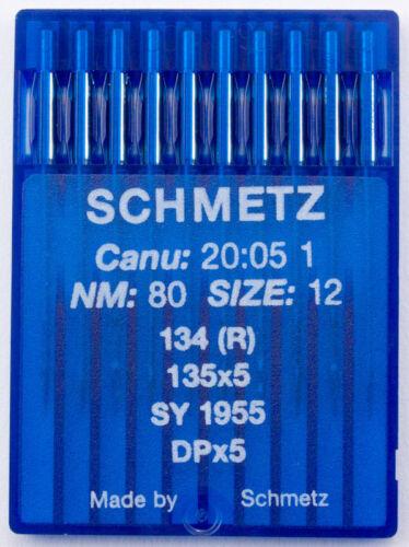 Industrienadel Schmetz Rundkolbennadeln System 134R 80er