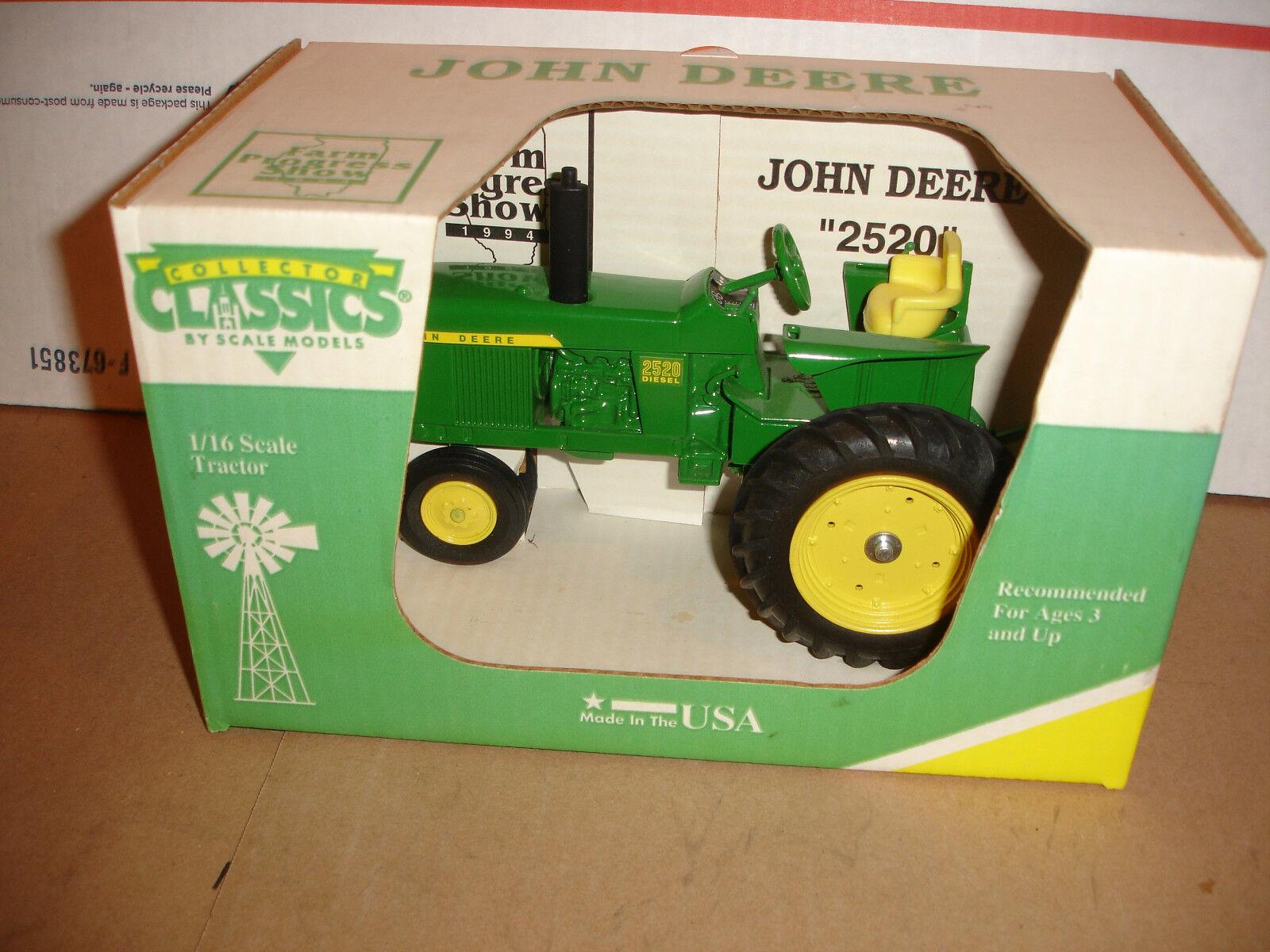 1 16 joh deere  2520 toy tractor