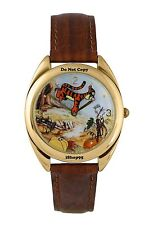 NEW Disney Fossil Winnie The Pooh & Tigger Too Limited Edition Pumking Watch HTF